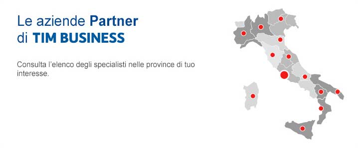 Le Aziende Partner di TIM BUSINESS